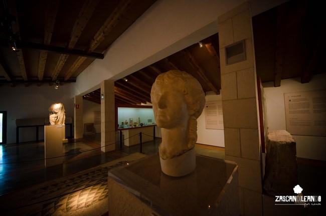Interior del museo de Segóbriga