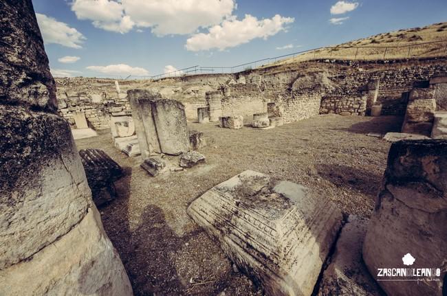 Restos de las ruinas romanas de Segóbriga