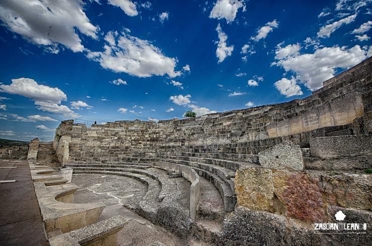 Teatro romano de Segóbriga, en Cuenca