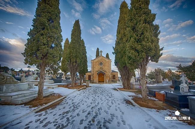 El cementerio de Valverde de Júcar es uno de los más bonitos de la provincia de Cuenca