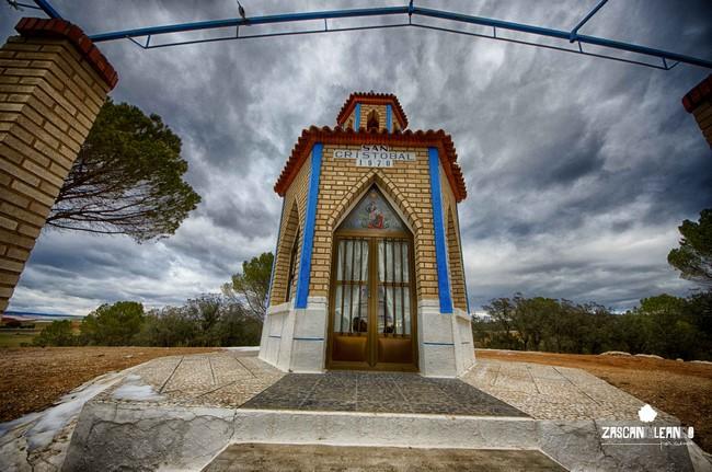 Este templo dedicado a San Cristóbal tiene unas reducidas dimensiones