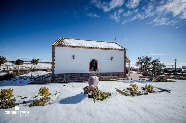 El paraje que rodea a la ermita de Pinarejo es espectacular