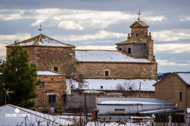 La iglesia parroquial de Nuestra Señora del Romeral, en Hontecillas, es de origen románico