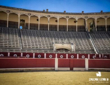 Interior de la plaza de toros de Albacete