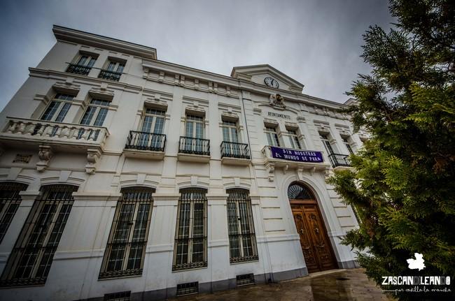 El edificio del ayuntamiento de Tomelloso es uno de los más bellos de Ciudad Real