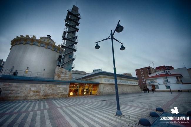 Actualmente el Depósito del Sol alberga una biblioteca municipal