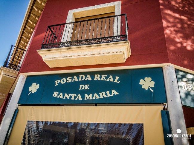 Muy recomendable el restaurante Posada Real de Santa María, en Santa María del Campo Rus