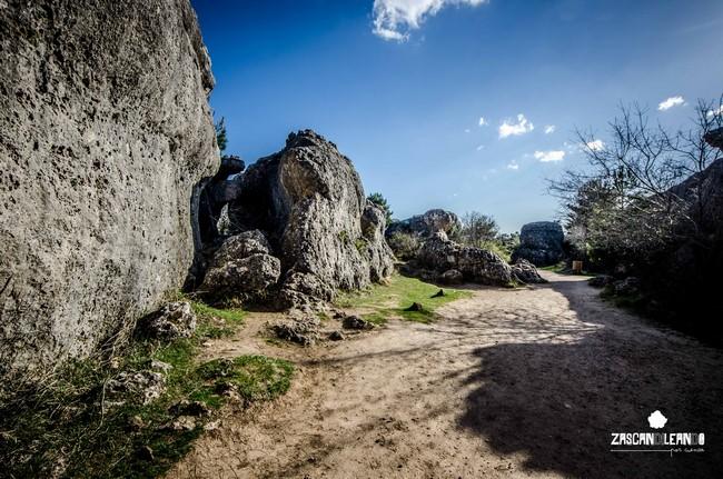 La Foca aparece en la entrada de la zona de umbría de la Ciudad Encantada