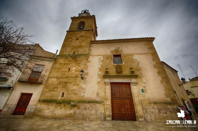El templo más importante de Tomelloso es la iglesia parroquial de Nuestra Señora de la Asunción