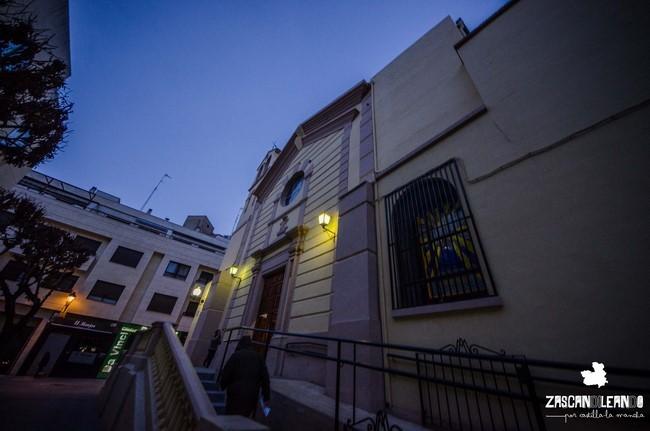 Fachada de la iglesia parroquial de la Purísima Concepción
