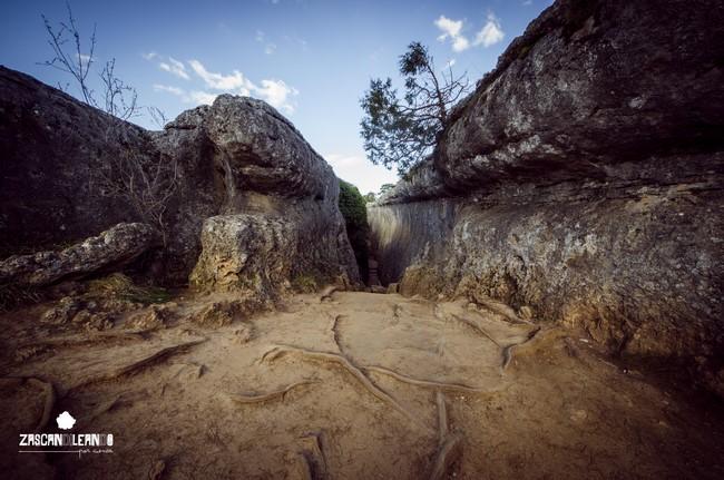 El Tobogán es un gran callejón de enormes paredes y húmedo ambiente