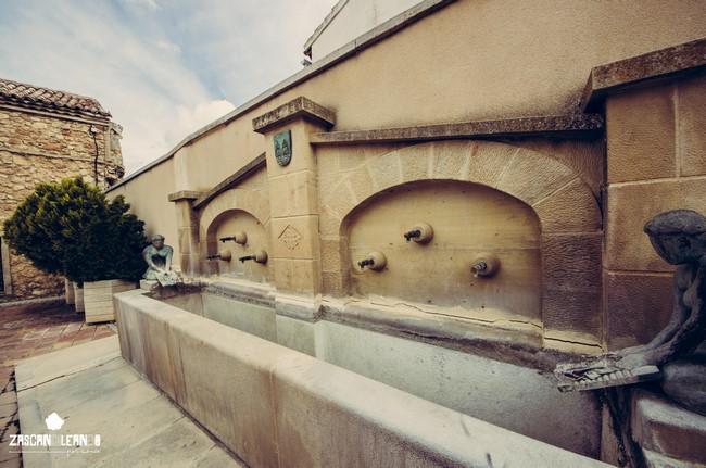 Junto a la ermita de Nuestra Señora de Gracia se halla esta fuente