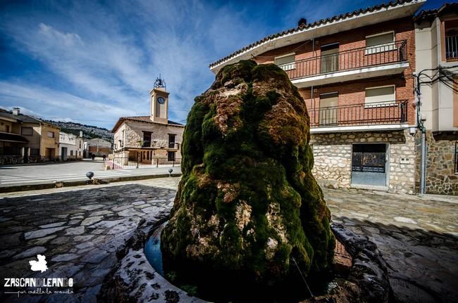 La Casa Consistorial de Moratilla de los Meleros es un elegante edificio con torre