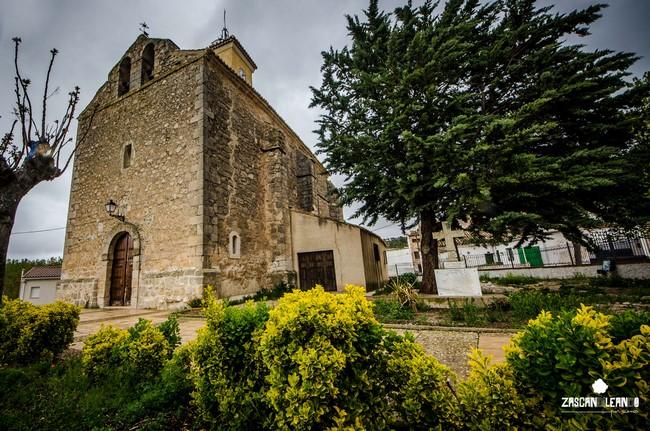 La pila bautismal de la iglesia de Huelves tiene mucho valor