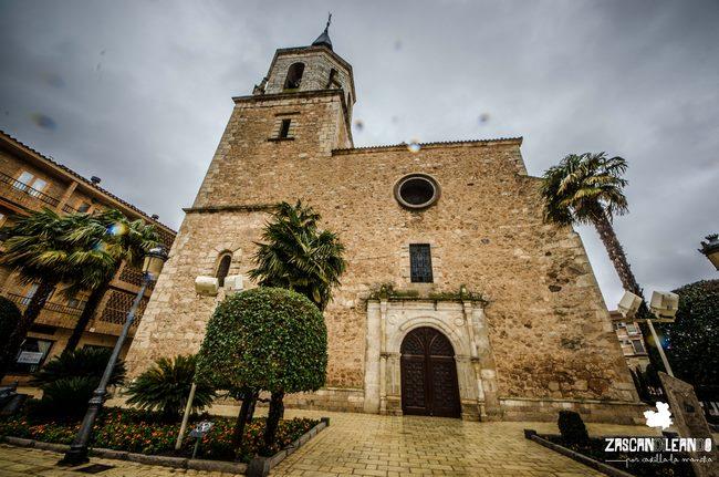 De estilo gótico tardío, la iglesia de San Pedro Apóstol es uno de los templos más importantes de Daimiel