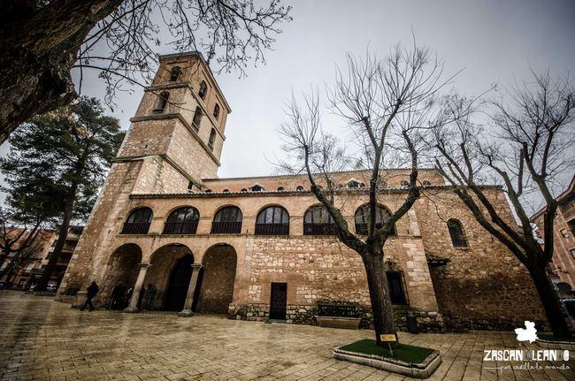 Junto con la iglesia de San Pedro, la parroquia de Santa María la Mayor es la más impresionante de Daimiel