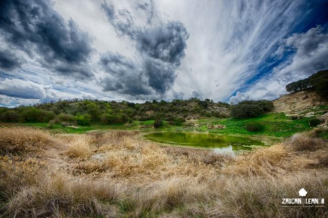 La laguna Negra pertenece al complejo lagunar del Río Moscas