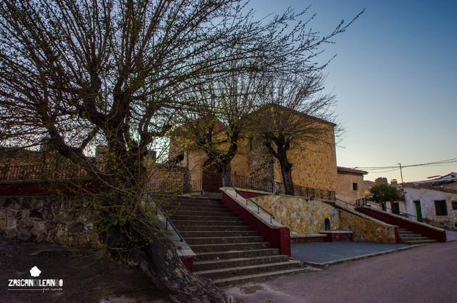 Plaza del Cristo de Portilla, en Cuenca