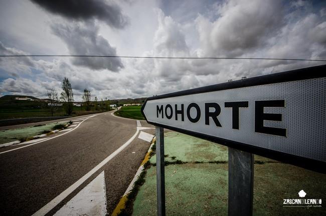 Señal de entrada a Mohorte