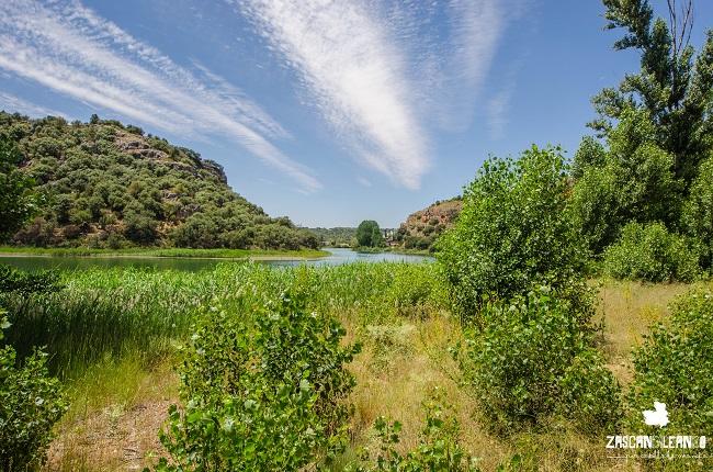Lagunas de Ruidera a su paso por Ossa de Montiel