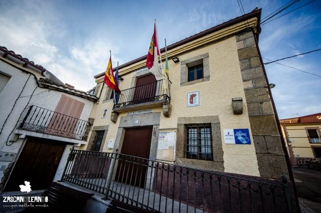 La casa Consistorial de Garciotum tiene dos plantas
