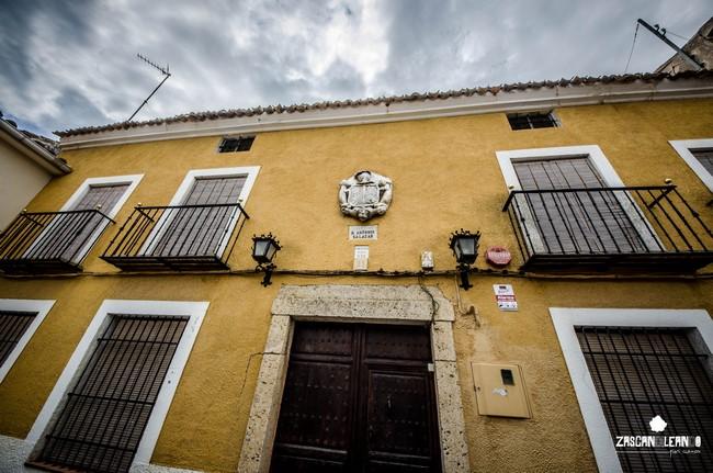 Uno de los inmuebles más bellos de Belinchón es la casa-palacio Salazar