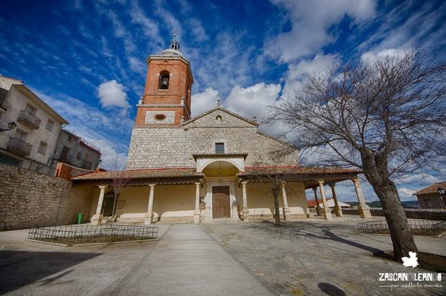 La iglesia de Horche, Guadalajara, es de estilo renacentista