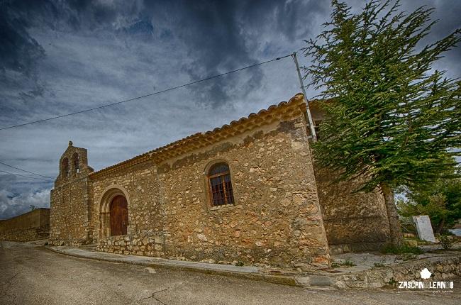La iglesia de Villar del Saz de Arcas es de estilo románico