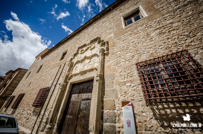 La rejería de la planta inferior del palacio de Cárdenas, en Ocaña, es impresionante