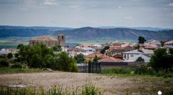 Vista panorámica de la localidad de Belinchón, Cuenca