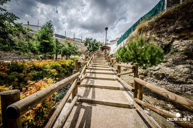 Este paraje se encuentra en el manantial de La Piquera, en Belinchón, Cuenca