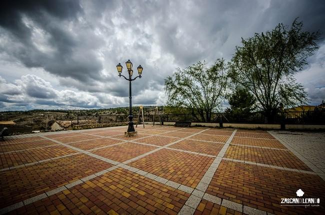 El centro neurálgico de Villar del Saz de Arcas es su bella plaza Mayor