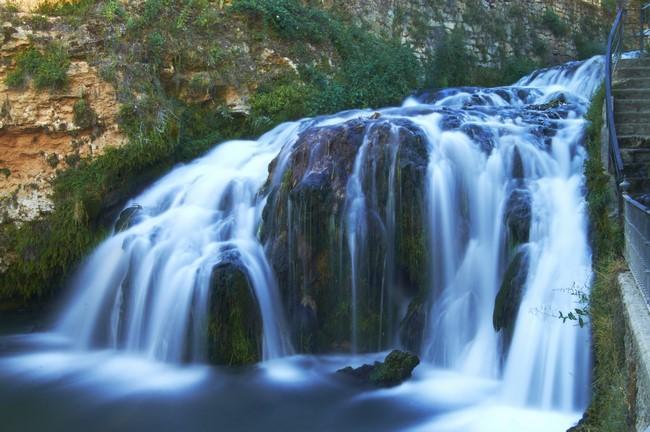 Cascadas del río Tajo a su paso por Trillo