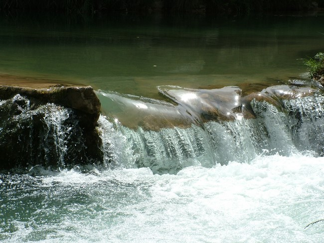 Río Tajo a su paso por Zaorejas, en Guadalajara