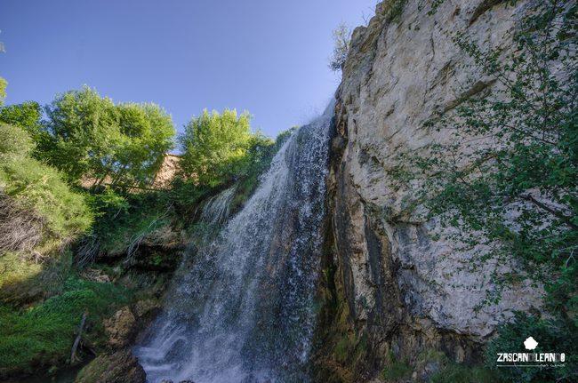 La cascada del Molino de la Chorrera, en Tragacete, es uno de los rincones más bonitos de Cuenca