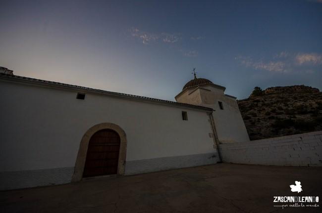 A 3 kilómetros de Alcalá del Júcar se ubica la ermita de San Lorenzo