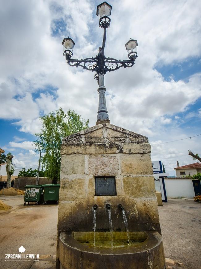 La fuente lavadero es una de las construcciones más importantes de Vellisca