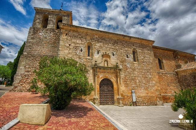 La torre de la iglesia de Vellisca no fue terminada hasta el siglo XX