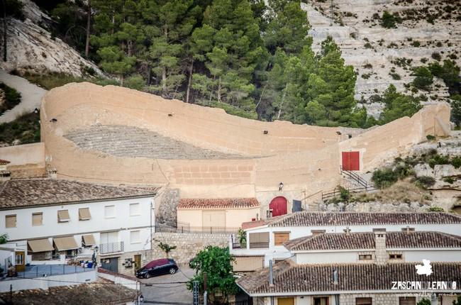 En Alcalá del Júcar existe una de las plazas de toros más antiguas de España