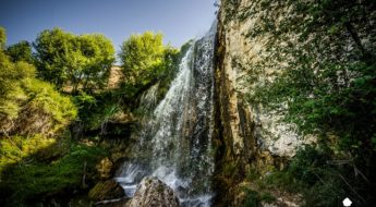 Cascada del Molino de la Chorrera, en Tragacete