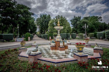 Fuente de La Talaverana, en el parque Gasset, Ciudad Real