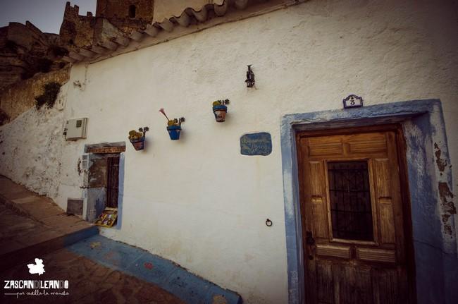 En Alcalá del Júcar, Albacete, existen numerosas casas cueva