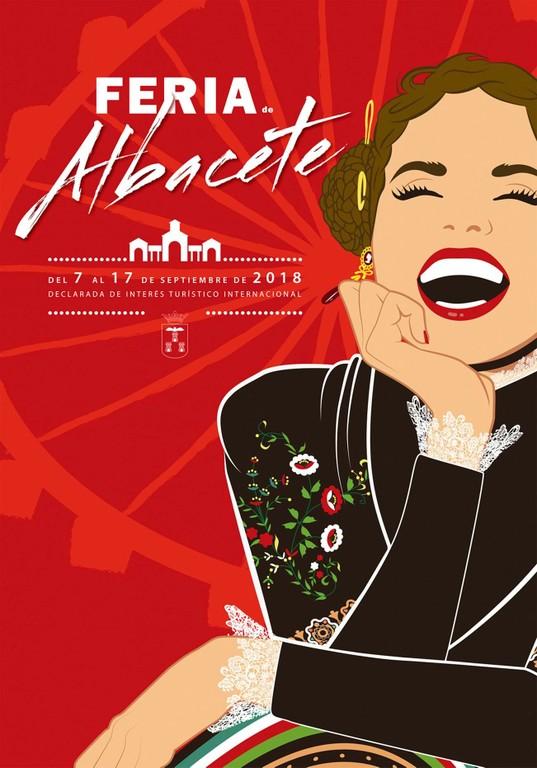 Cartel de la Feria de Albacete 2018