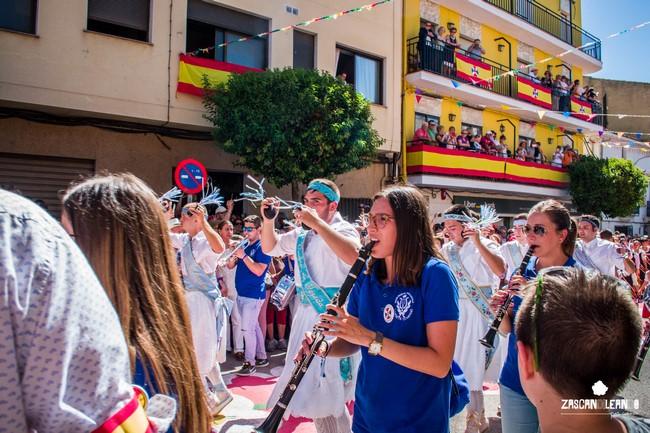 La melodía tan pegadiza del Septenario corre a cargo de una banda de música de Landete