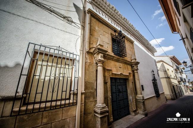 Esta casa señorial es de las más bellas de Iniesta