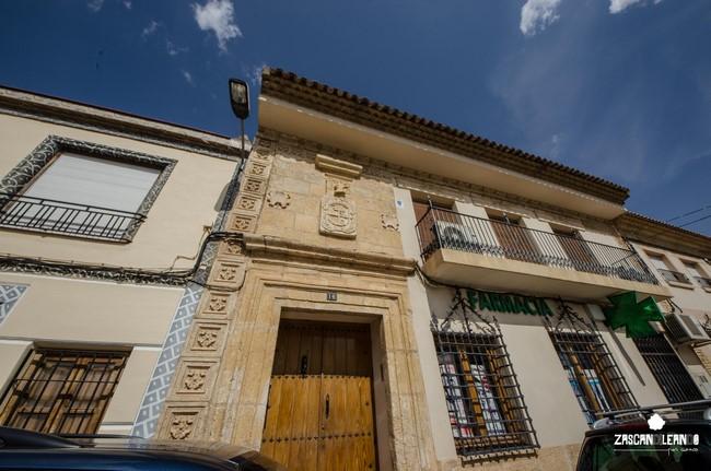 Este edificio señorial también es conocido como casa del Corregidor Espinosa