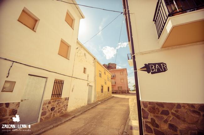 El color blanco de las viviendas se toma de la zona de Sierra Morena