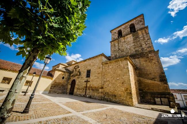 La iglesia de Iniesta es un templo de grandes dimensiones