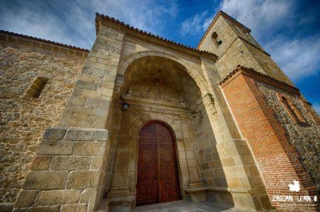 Iglesia parroquial de San Andrés Apóstol, en Castillo de Bayuela, Toledo
