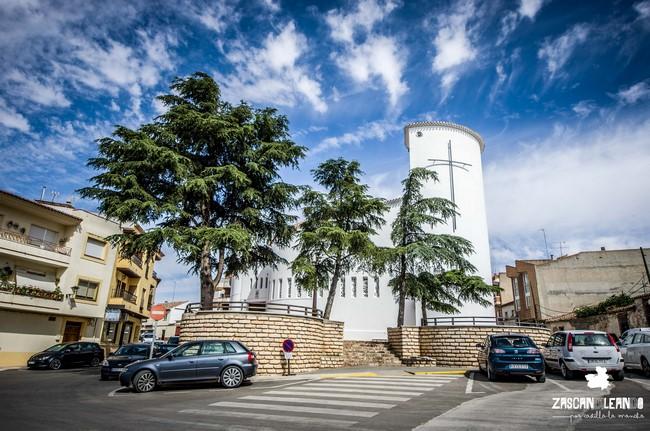 La iglesia más moderna de Villarrobledo es la de Santa María